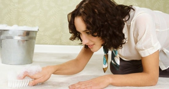 Как почистить палас от пятен