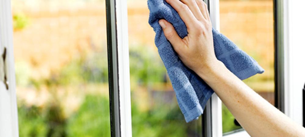 Как быстро вымыть окно
