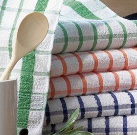Как отстирать кухонные полотенца от пятен