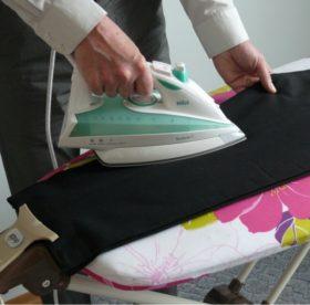 Как убрать лоснящиеся пятна с брюк без вреда для одежды