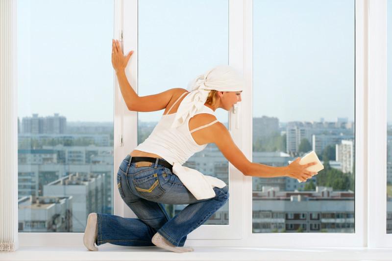 Как правильно вымыть окна