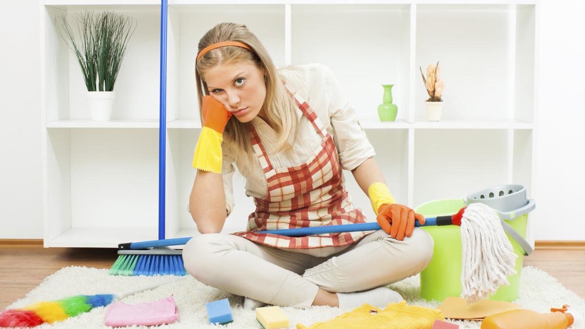 Как убраться в квартире
