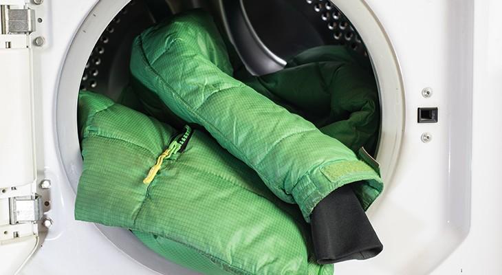 Как стирать куртку на пуху