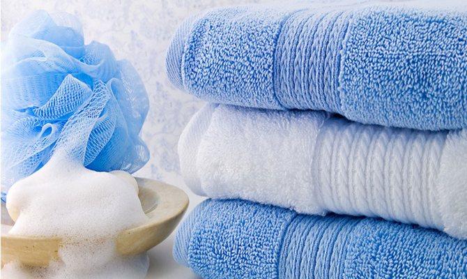 Стирка махрового полотенца