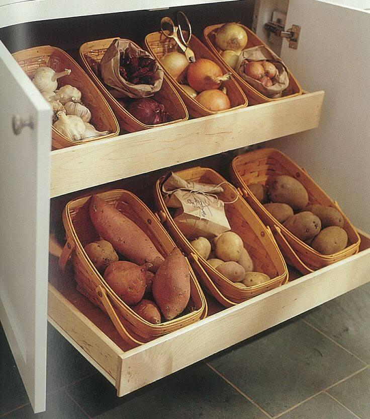 Как лучше хранить картофель в квартире