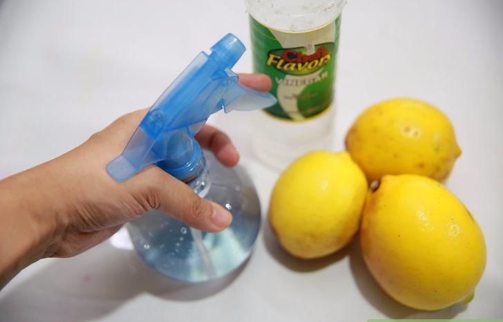 Как вывести пятно лимоном