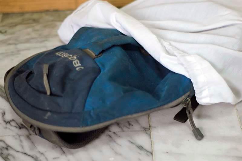 Рюкзак как стирать