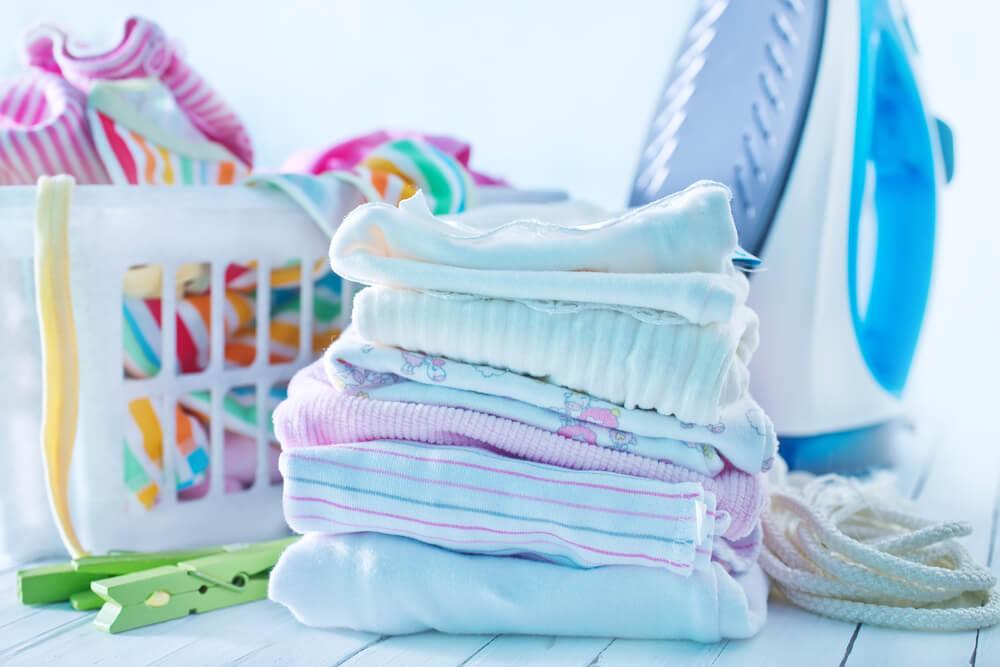 Как стирать вещи для новорожденного в роддом