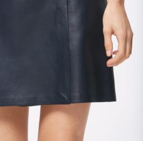 Решили погладить кожаную юбку, куртку, но не знаете как? Сделайте это правильно