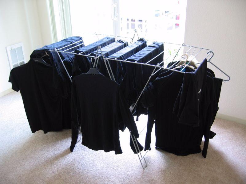 Как вернуть вещи черный цвет