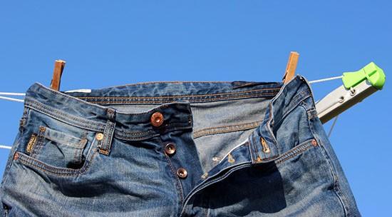 Как удалить пятно от ржавчины на джинсах