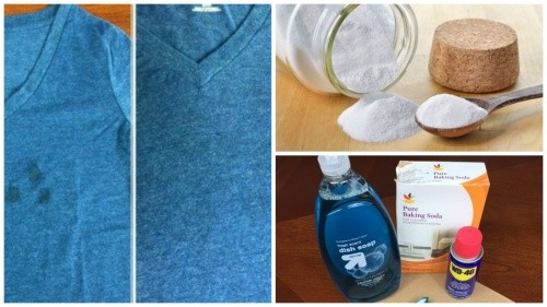 Как избавиться от пятен масла с одежды