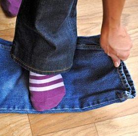 Как постирать джинсы, чтоб они сели, или, наоборот, не уменьшились в размере