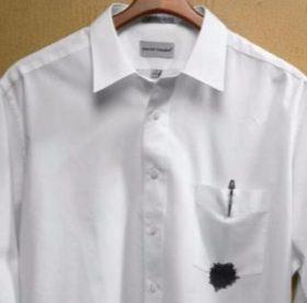 Как отстирать гелевую ручку с белой одежды – советы и рекомендации