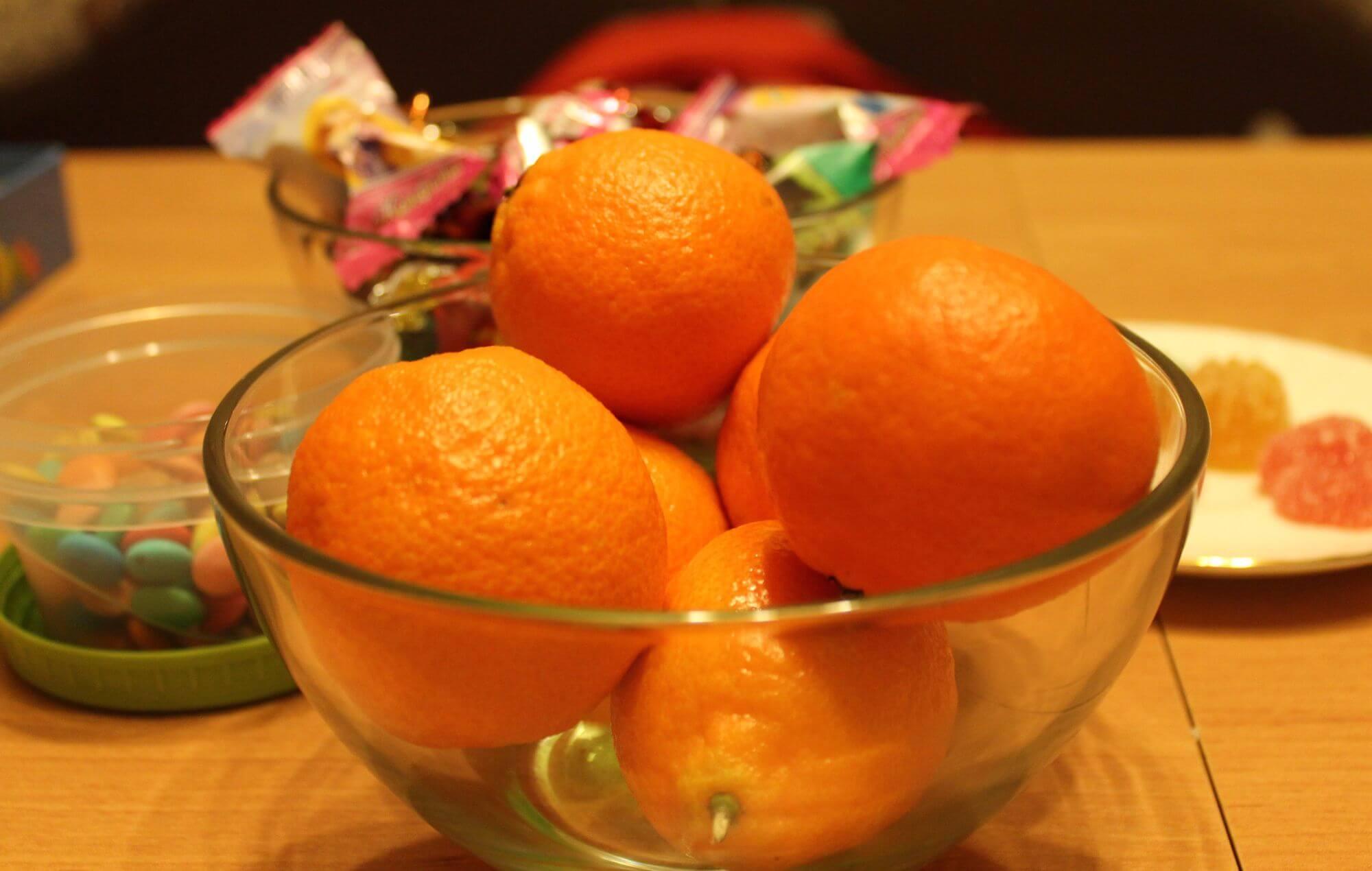 Как отстирать мандарин