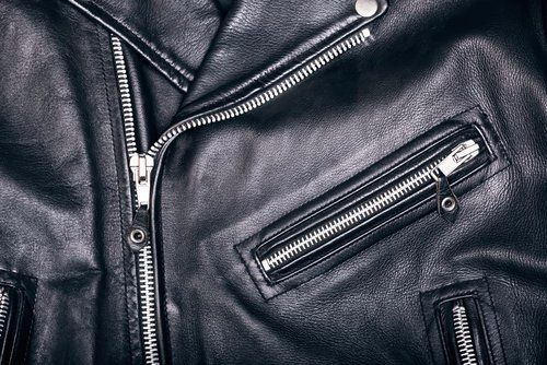 Как вывести пятно с кожаной куртки