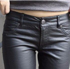 Кожаные штаны: как стирать в стиральной машине или руками?