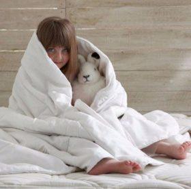 Как лучше стирать пуховое одеяло: вручную или в стиральной машине?