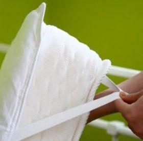 Как правильно стирать наматрасник или чехол