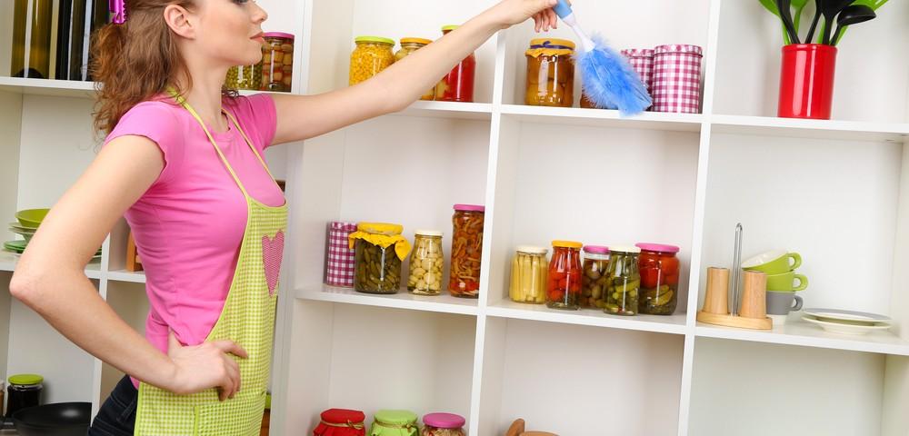 Поддержка чистоты в доме