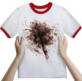 Как отстирать въевшуюся грязь с белой цветной одежды