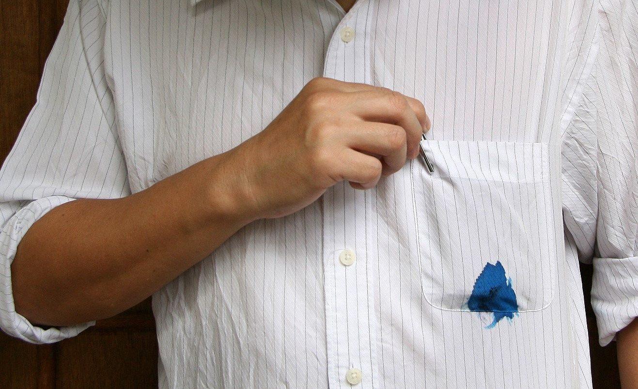 Отстирать гелевую ручку от ткани