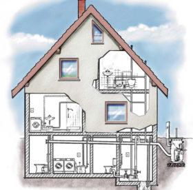 Причина появления запаха из септика в доме и способы его устранения