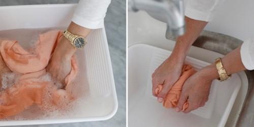 в какой воде стирать шерсть