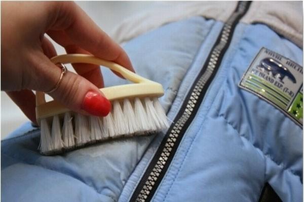 Чистка болоневой куртки