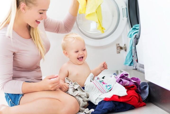 Как стирать детское белье в стиральной машине