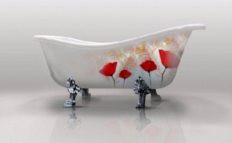 Уход за фарфоровой ванной