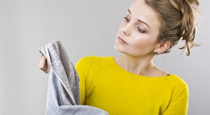 Проблема жирного пятна на одежде