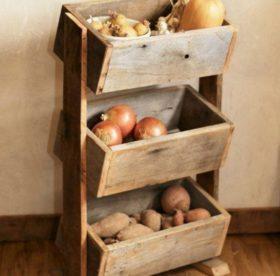 Как лучше хранить картошку в квартире