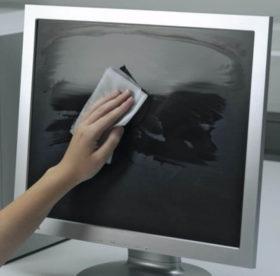 Как убрать черное пятно с поверхности монитора: полезные советы