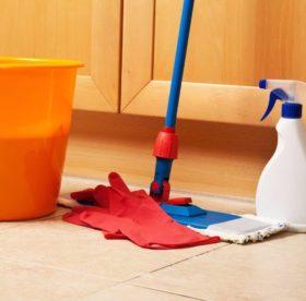 Как быстро и правильно мыть полы в доме