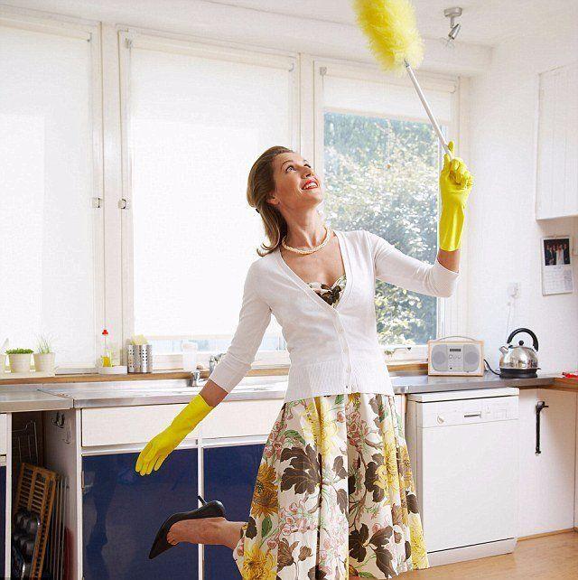 Как нужно убирать квартиру